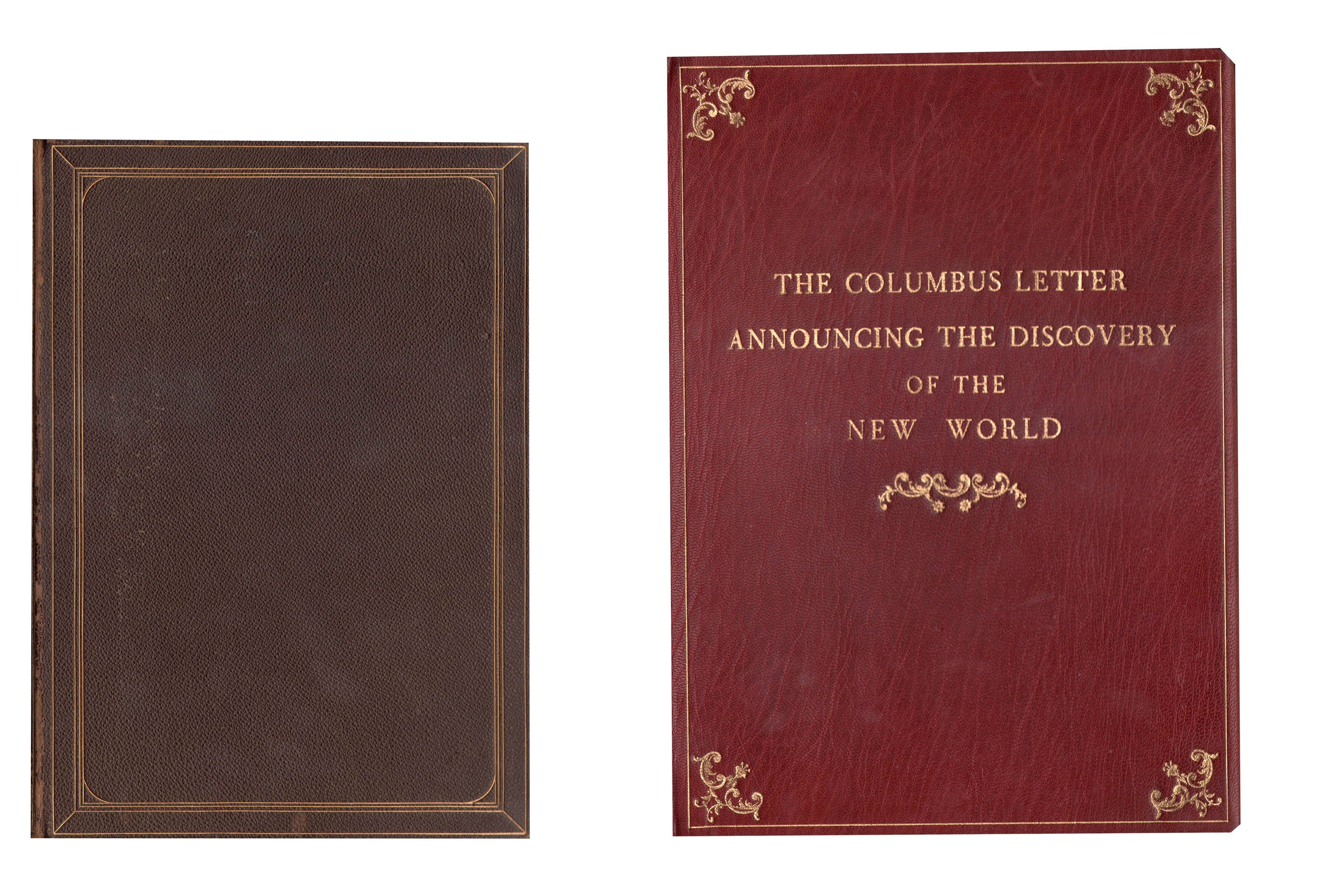 Christopher Columbus 1494 Book Letter Discovery America 01