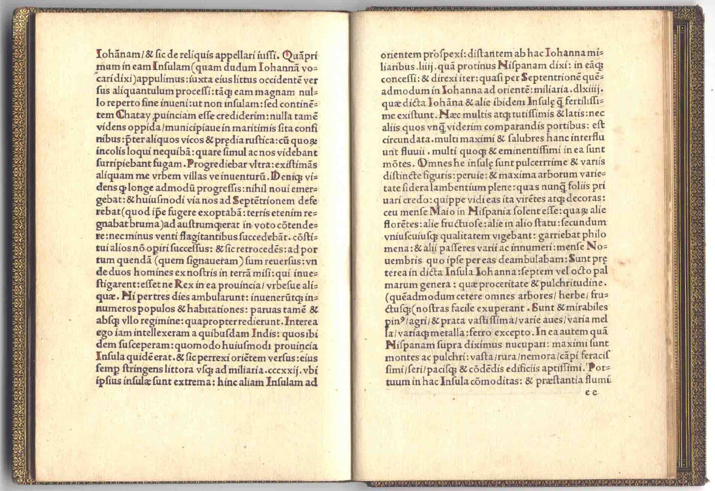 Christopher Columbus 1494 Book Letter Discovery America 10