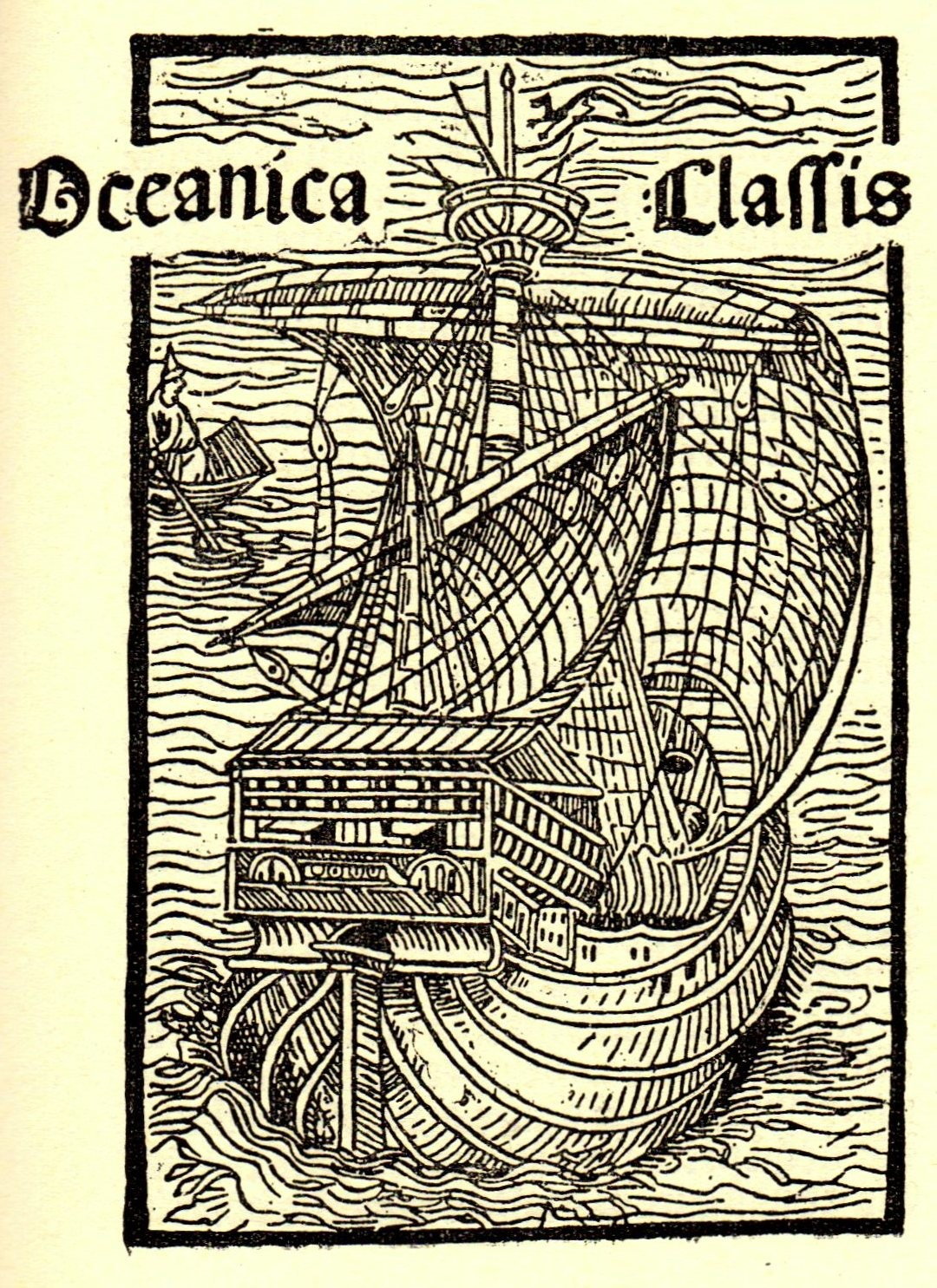 Christopher Columbus 1494 Lettera insulae inuensis Oceanica Classis