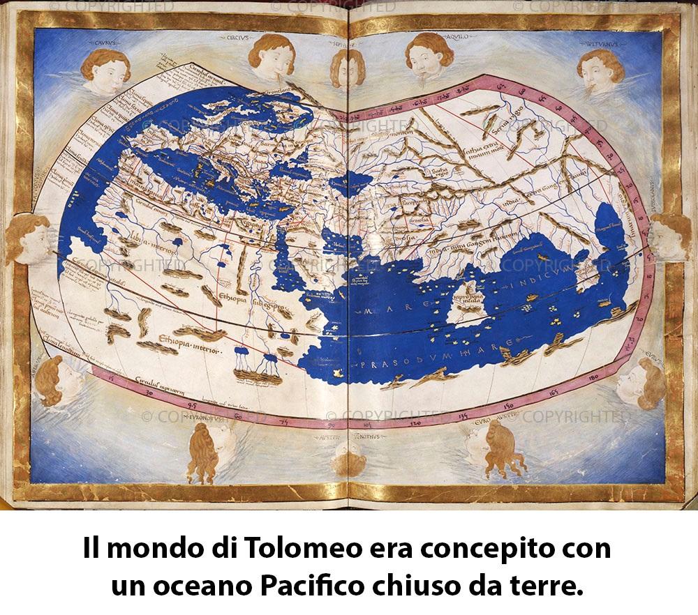 Una Delle Mappe Che Usò Cristoforo Colombo Ruggero Marino