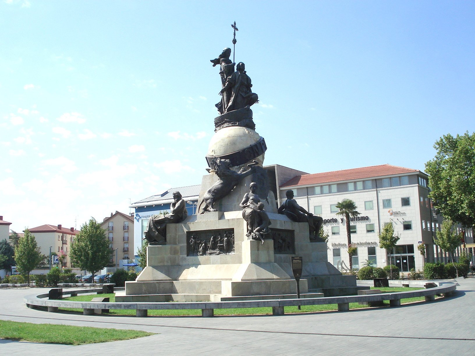 Columbus Monument Valladolid