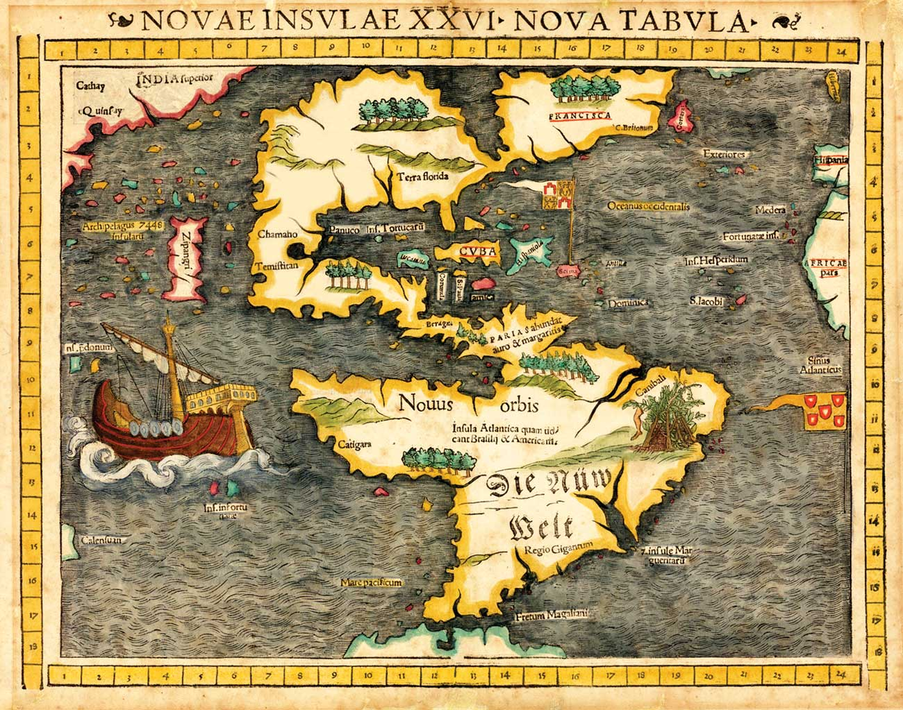 Sebastian Munster map 1540