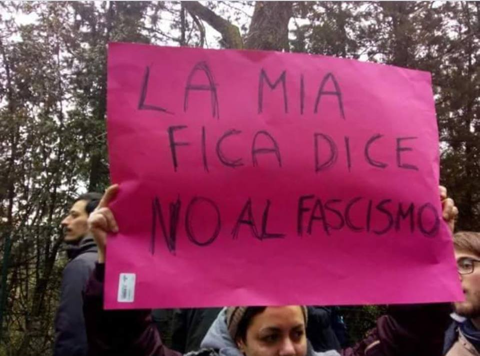 blog la mia fica dice no al fascismo