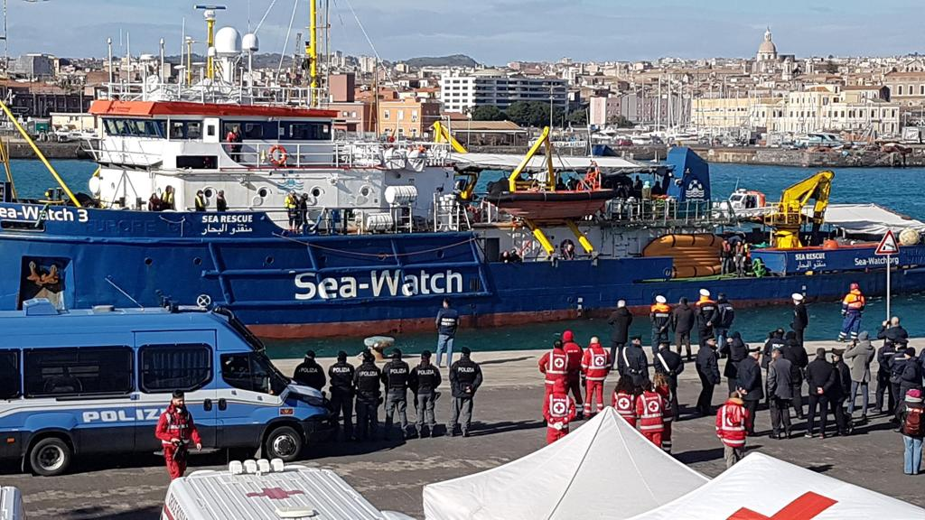 blog sea watch catania polizia