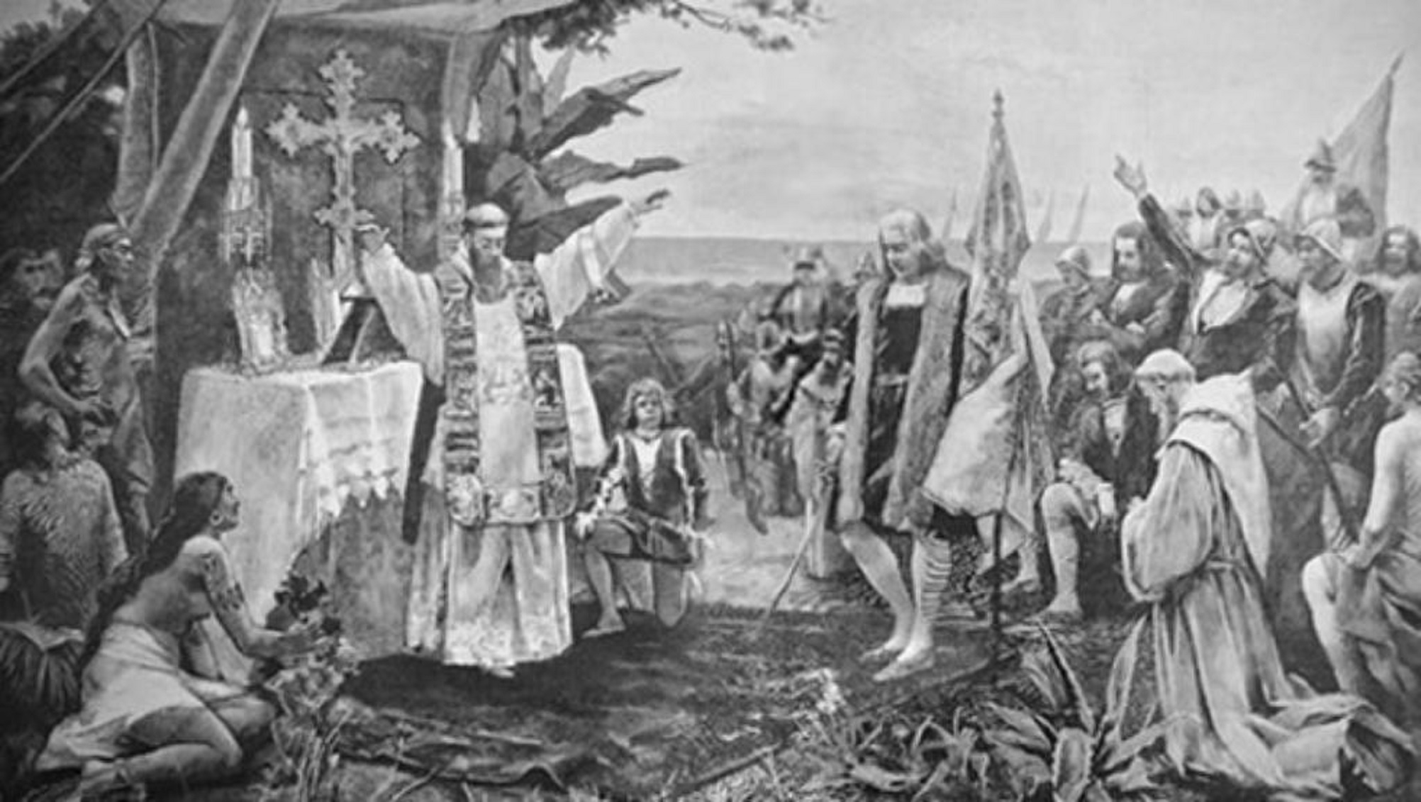 first mass america 6 January 1494