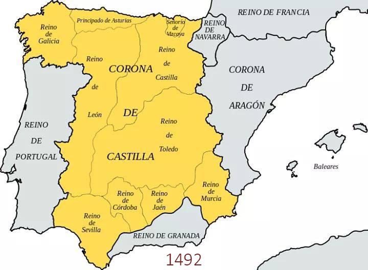 Cartina Mappa Spagna.Spagna Cartina