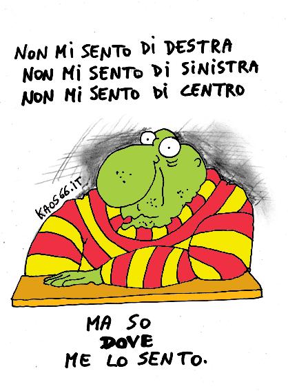 Perch in italia non posso essere di sinistra ruggero for Politici di destra nomi
