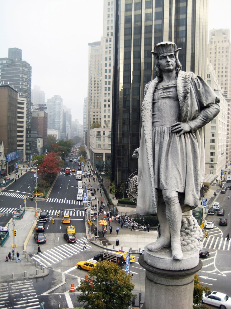 statua Cristoforo Colombo New York 1
