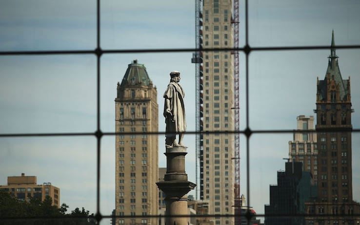 statua Cristoforo Colombo New York 2