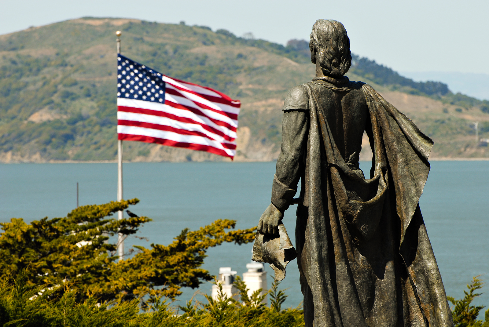 statue Christopher Columbus San Francisco