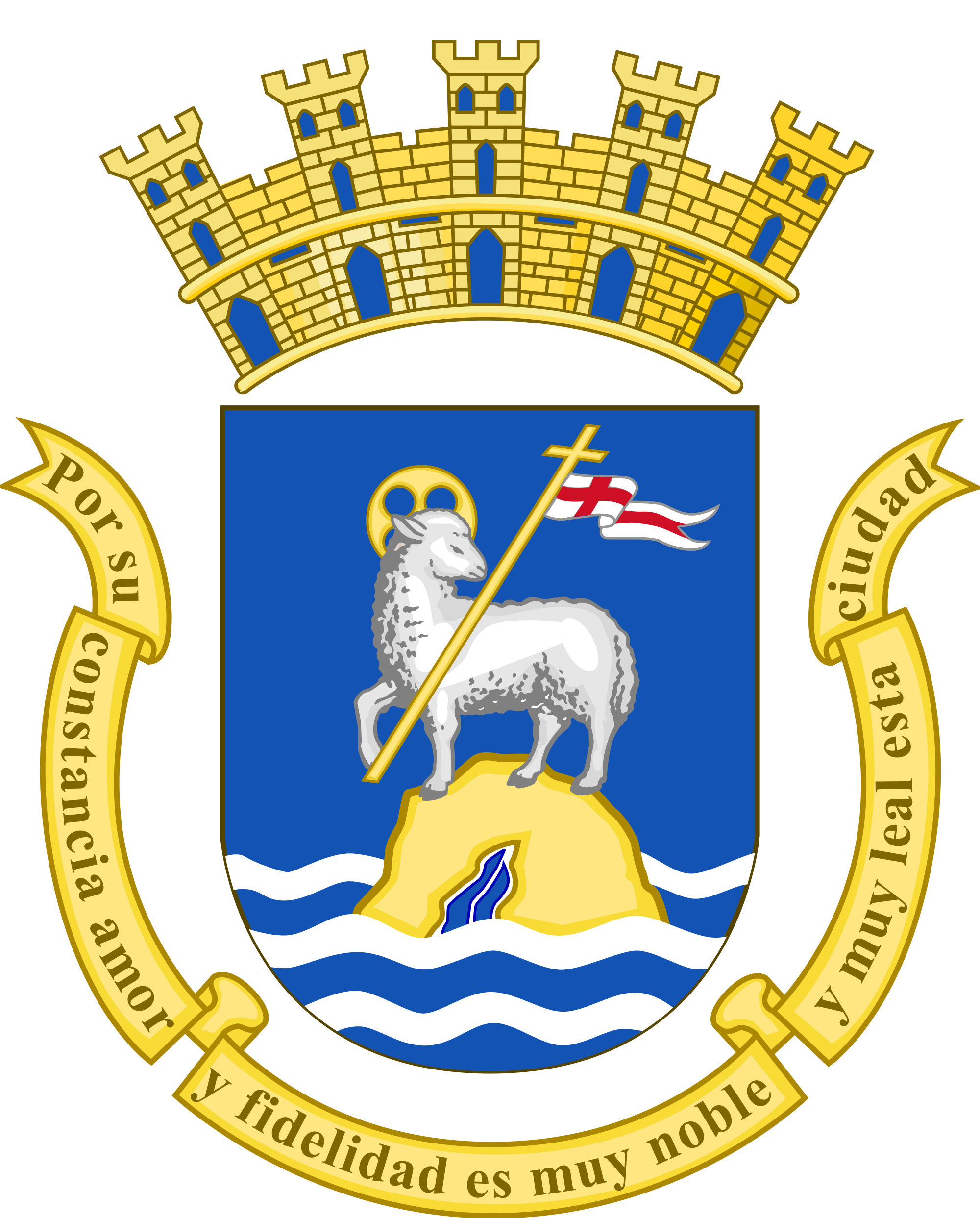 stemma Coat of Arms of San Juan Puerto Rico